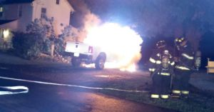 Truck Fire Still Under Investigation