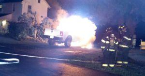 Truck Fire Still Under Investigation