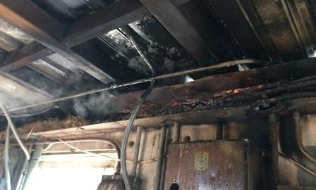 Electrical Fire In Joppa